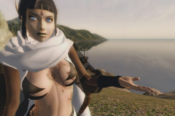 Ancient Elven Sorceress – Head06 version