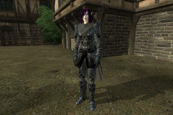 Black Amber Armor