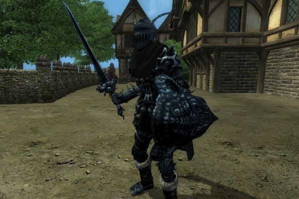 Black Madness Armor – all equipment pieces