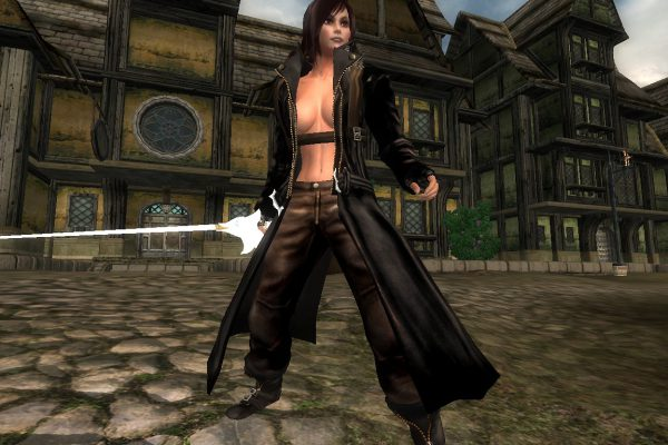 DMC Dante Female – black variant