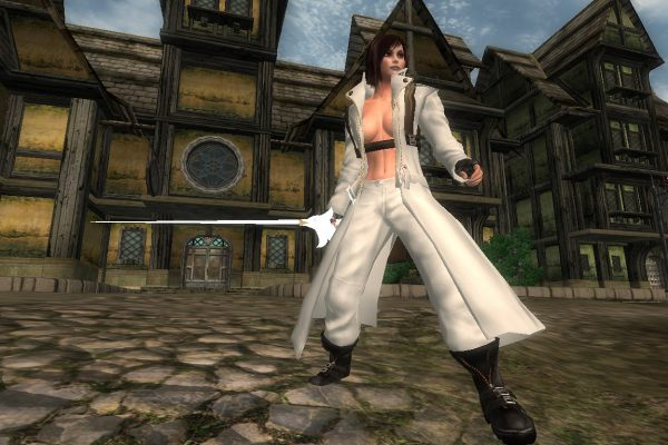 DMC Dante Female – white variant