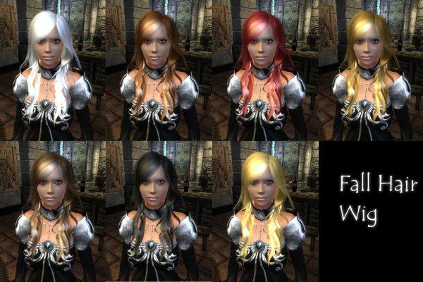 Fall Hair Wig 02