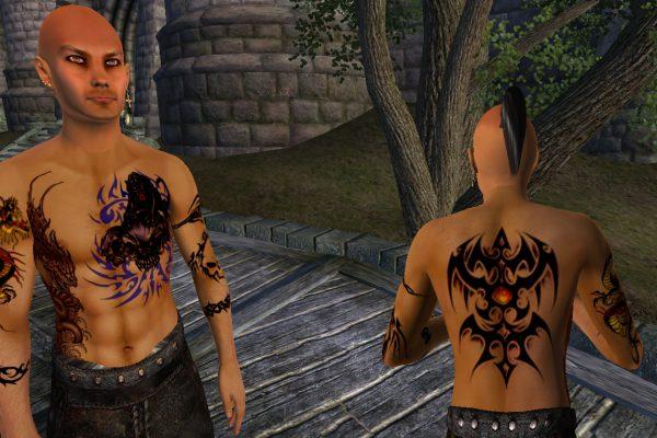 Sadran – tattoos