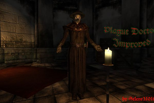 Plague Doctor – wallpaper