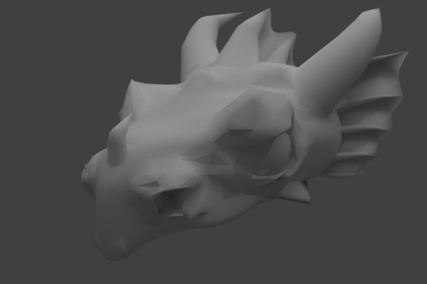 Dragon Head – Rendered