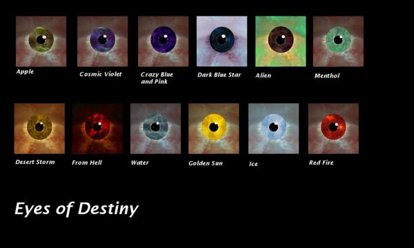 Unique Eyes Selection – Eyes Of Destiny