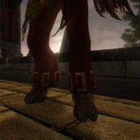 Illidan's pants with hooves
