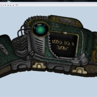 Console panel – inspired by Stargate Universe (Destiny's Dial Home Device)