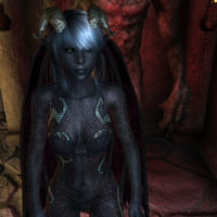 Abyss Demon – classic head – female
