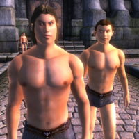 seamless vanilla male – better normal map