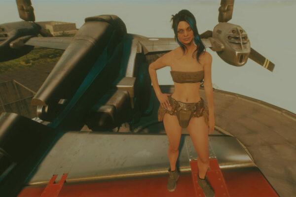 Robotic Leather – female 4